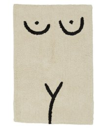 COLD PICNIC  Torso Bathmat Cream