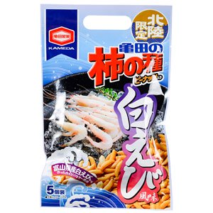 亀田製菓柿の種白えび風味