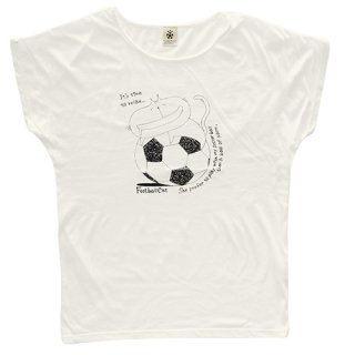 Football Cat : Relax - off white ladies