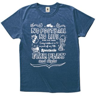 No Football No Life Free Hand ver. - deep heather navy