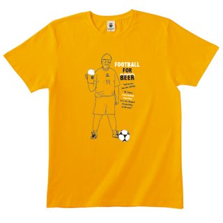 Football For Beer 2 - marigold yellow