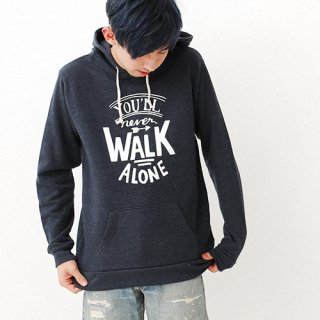 Youll Never Walk Alone Parka - heather navy