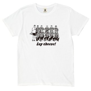 Say Cheese - white