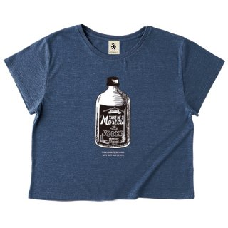 Vodka Take Me To Moscow - dolman heather navy