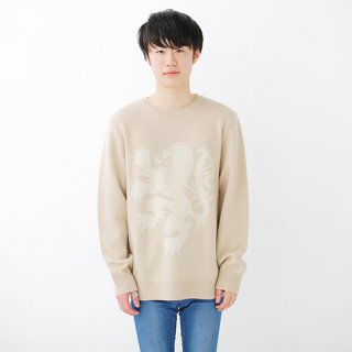 European Great Lion Knit - creamy beige<img class='new_mark_img2' src='//img.shop-pro.jp/img/new/icons14.gif' style='border:none;display:inline;margin:0px;padding:0px;width:auto;' />