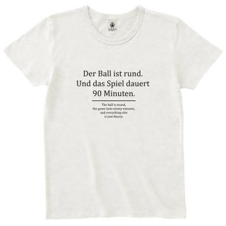Der Ball ist rund - off white<img class='new_mark_img2' src='//img.shop-pro.jp/img/new/icons14.gif' style='border:none;display:inline;margin:0px;padding:0px;width:auto;' />
