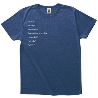 Football HTML Tag - deep heather navy<img class='new_mark_img2' src='//img.shop-pro.jp/img/new/icons14.gif' style='border:none;display:inline;margin:0px;padding:0px;width:auto;' />