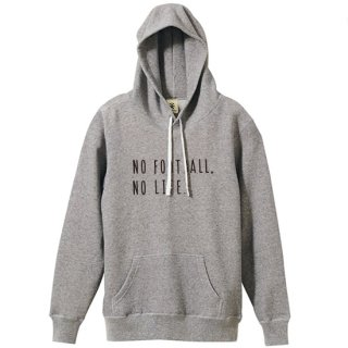 No Football No Life Parka - vintage heather gray<img class='new_mark_img2' src='https://img.shop-pro.jp/img/new/icons14.gif' style='border:none;display:inline;margin:0px;padding:0px;width:auto;' />