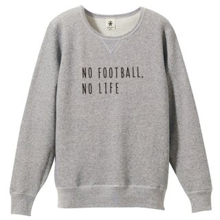 No Football No Life Sweat - vintage heather gray<img class='new_mark_img2' src='https://img.shop-pro.jp/img/new/icons14.gif' style='border:none;display:inline;margin:0px;padding:0px;width:auto;' />