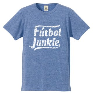 Football Junkie - light blue