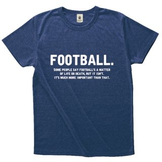 Football's A Matter-Q - deep heather navy