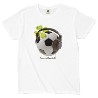 Re:Music&Football - white