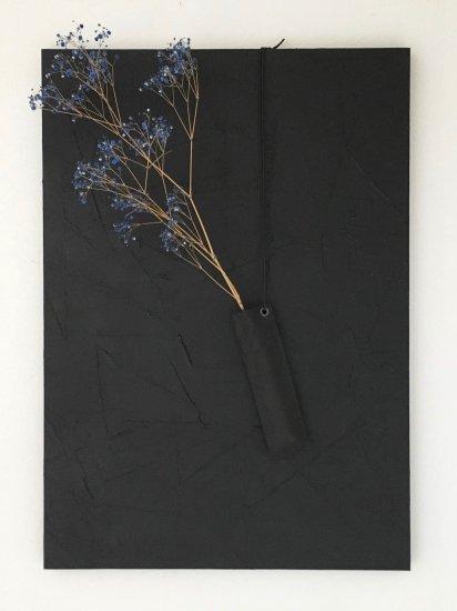 壁花器/黒
