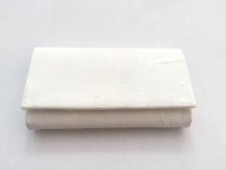 マチ付きカードケース/白