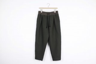 Cotton Linen Wool Taperd Gom Pants