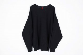 Cotton Coarsely Knit / black
