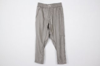 Suede Jarsey Pants / gray
