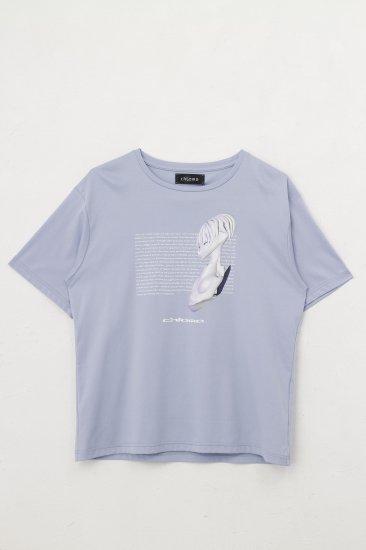 ショートスリーブTシャツ BIRTH / ベビーブルー