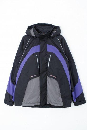 Y2Kジャケット/ブラック×スチールグレー<br>※先行予約商品の為、備考欄を必ずご確認ください。