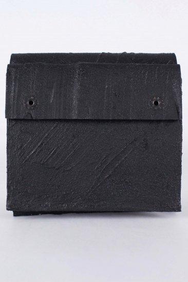 三つ折り財布/bk