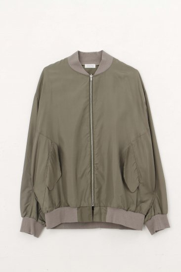 POTTO / silk blouson