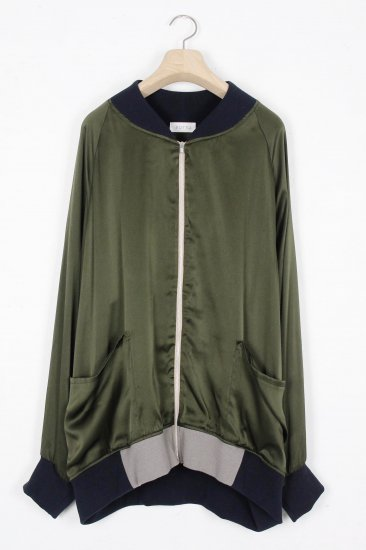POTTO /zip-up blouson