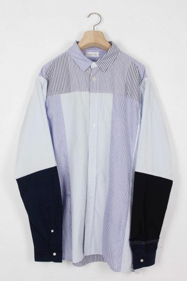 POTTO/ custom shirts / bluestripe