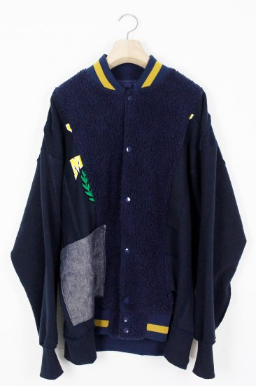POTTO/ custom blouson / navy