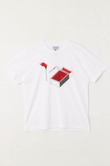 CARNE BOLLENTE / FIRE FIRE FIRE / white