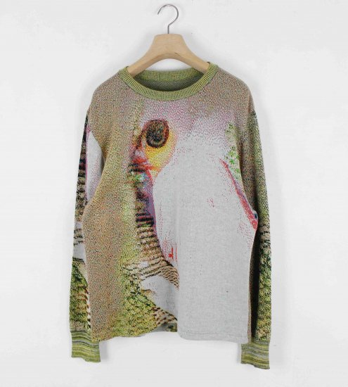 HATRA / Syn Feather Sweater / Owl