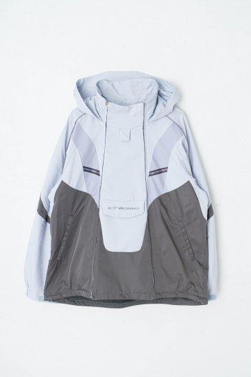 chloma / Y2Kジャケット : division model / ペールブルー×スチールグレイ