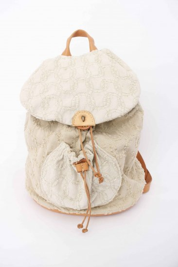 eatable many orders / WARAKNIT BACKPACK / NATURAL GREEN