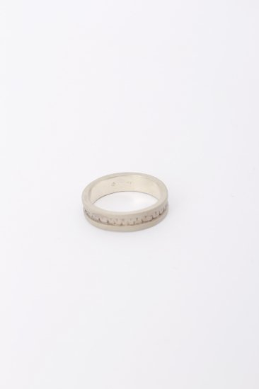 TABOO / Brain  burger Ring/ wh