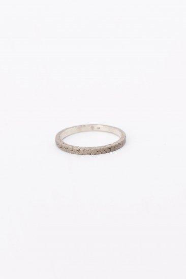 TABOO / Brain flat Ring / Silver