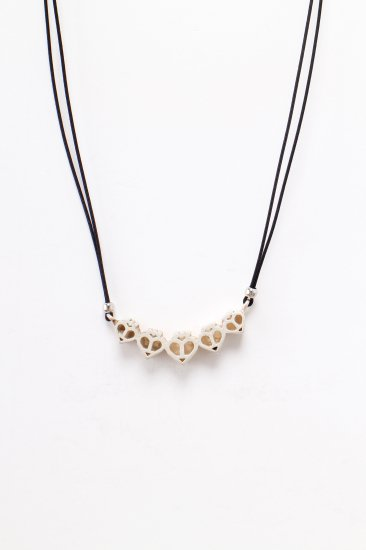 TABOO / logo necklace /bk