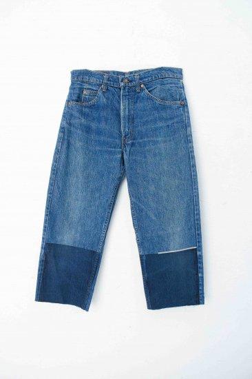 spoken words project /denim pants / blue