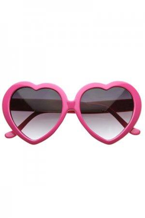 Heart Sunglasses (Pink)