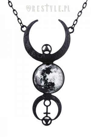 <img class='new_mark_img1' src='https://img.shop-pro.jp/img/new/icons56.gif' style='border:none;display:inline;margin:0px;padding:0px;width:auto;' />Restyle BLACK FULL MOON NECKLACE