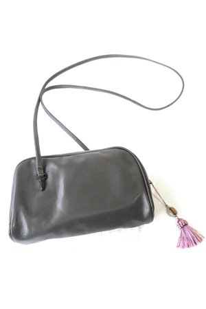 XTS Gray Mini Shoulder Bag(Pink Tassel)