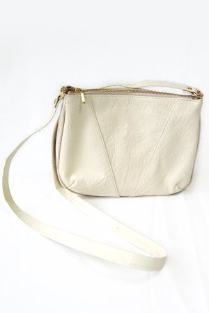 XTS White Shoulder Leather Bag(GOLD×GOLD)