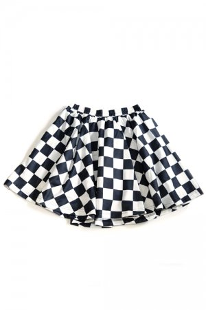 ACDC TAG Checker Plaid Skirt