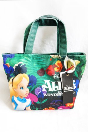 <img class='new_mark_img1' src='https://img.shop-pro.jp/img/new/icons20.gif' style='border:none;display:inline;margin:0px;padding:0px;width:auto;' />Alice in Wonderland Print Mini Tote Bag