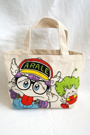 アラレちゃん Cotton Mini Tote Bag