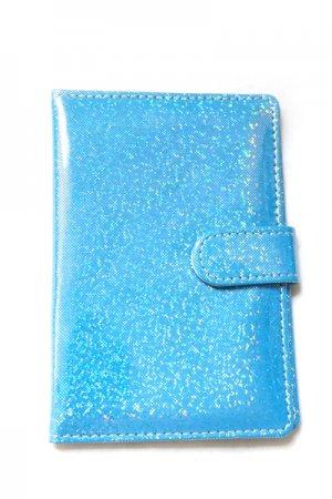 Glitter Passport Case (Blue)