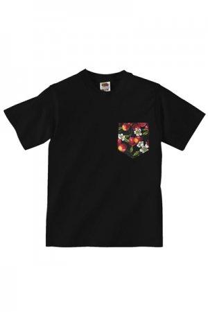 Lovebite Clothing Pocket Tee Cherry (Black)