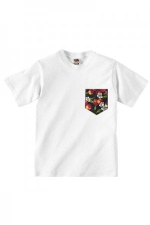 Lovebite Clothing Pocket Tee Cherry (White)