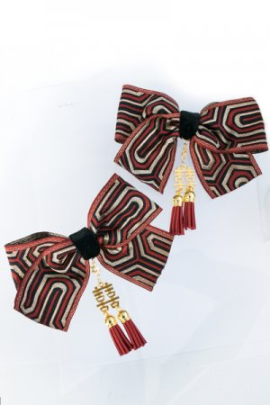 XTS China Ribbon Hair Clip Set 5