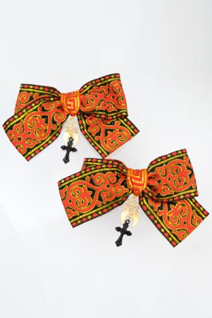 XTS China Ribbon Hair Clip Set 14