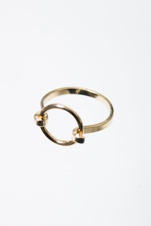 Mini O-Ring Ring (Gold)