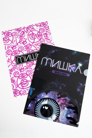 MISHKA ORIGINAL CLEAR FILE 2 PCS SET